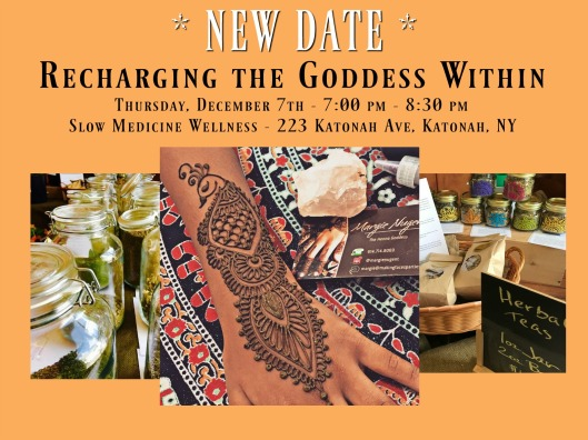 Recharging the Goddess Within - New Date